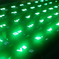 Glowing Keyboard