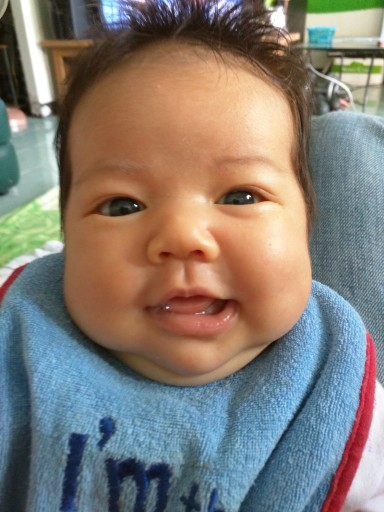 Smiling Baby Annabelle