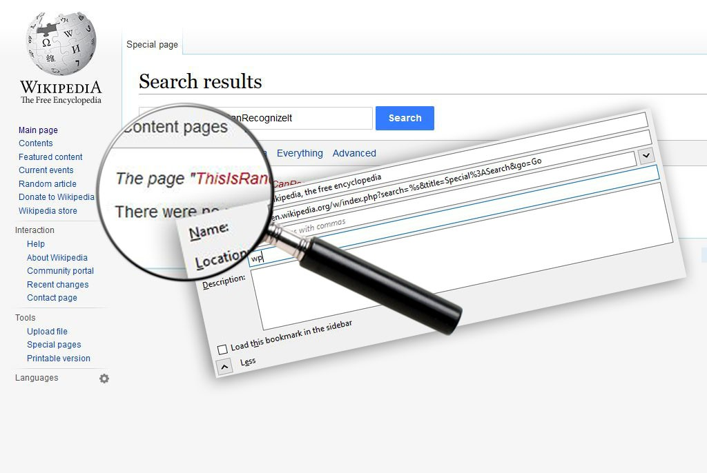 How to Create Search Bookmarklets