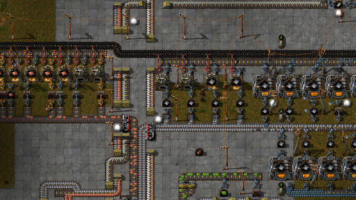 Factorio Smelting Lines